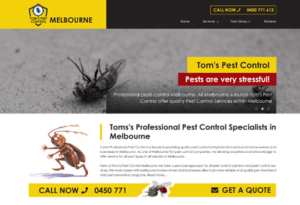 Tom Pest Control Melbourne